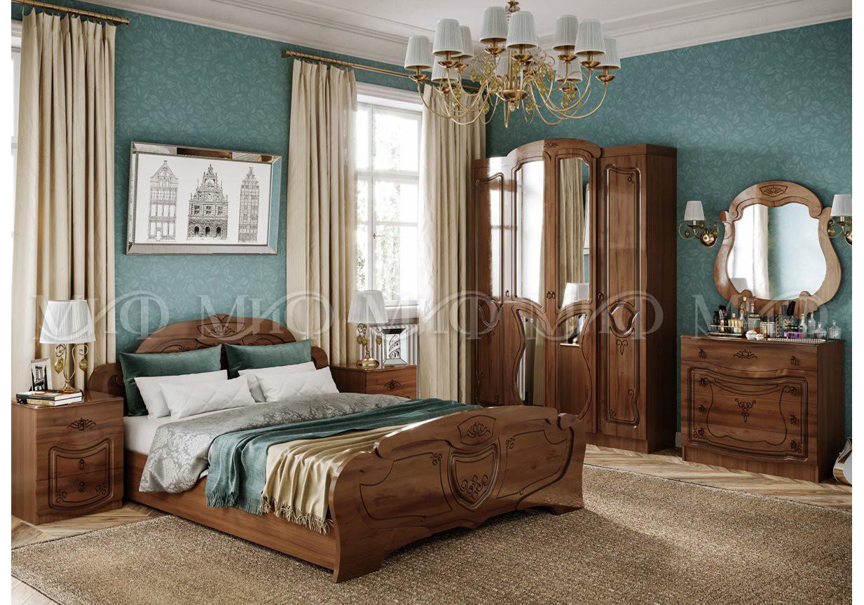 купить в спб спальня мария кровать 1600 интернет магазин мебели