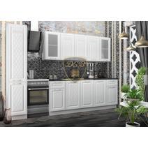Кухня Вита Шкаф верхний угловой стекло ПУС 550 / h-700 / h-900, фото 3