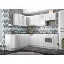 Кухня Вита Шкаф верхний угловой стекло ПУС 550 / h-700 / h-900, фото 4