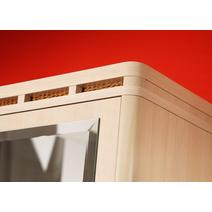 Кэри Голд Шкаф 2-х дверный с зеркалом /гл 390, фото 3