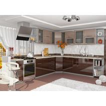 Кухня Олива Шкаф верхний угловой ПУ 600*600 / h-700 / h-900, фото 5