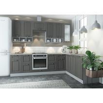 Кухня Капри Шкаф верхний угловой стекло ПУС 550 / h-700 / h-900, фото 10