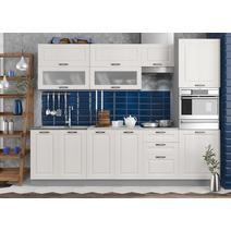 Кухня Капри липа белый