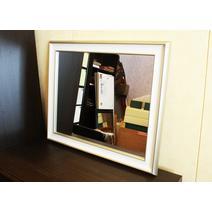 Зеркало Белое дерево Арт. 620675 в багетной раме, фото 2