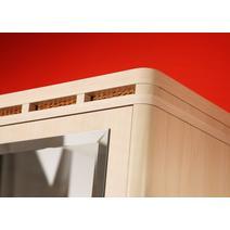 Кэри Голд Шкаф 3-дверный с зеркалом, фото 3