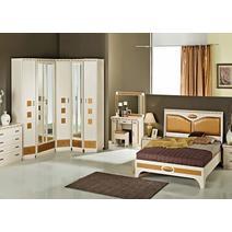 Кэри Голд Шкаф 2-дверный с зеркалом /гл 586, фото 3