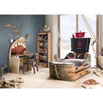 Pirate 20.13.1103.00 Письменный стол Акула, фото 3