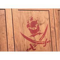 Pirate 20.13.1002.00 Трехдверный шкаф, фото 8