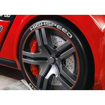 Champion Racer 20.02.1334.00 Кровать машина Biturbo Red, фото 5
