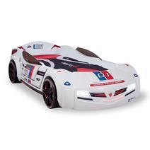 Champion Racer 20.02.1336.00 Кровать машина Biturbo White, фото 1