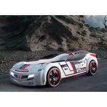 Champion Racer 20.02.1336.00 Кровать машина Biturbo White, фото 2