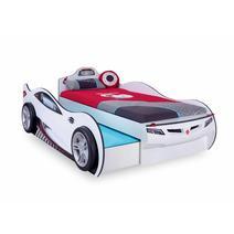 Champion Racer 20.03.1310.00 Кровать машина COUPE White с выдвижной кроватью, фото 1