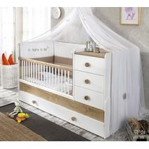 Natura Baby 20.31.1015.00 Кроватка трансформер 80*180, фото 4