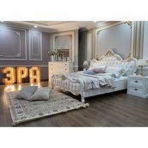 Натали Кровать с мягким изголовьем 1600, фото 6