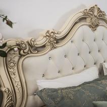 Мона Лиза кровать 1800 с мягким изголовьем, фото 3