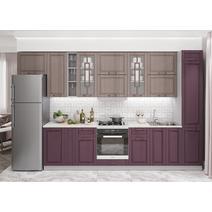 Кухня Гарда пурпур / капучино