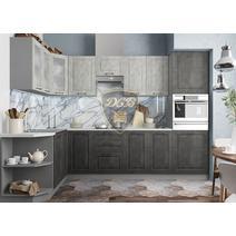 Кухня Капри камень светлый / камень темный