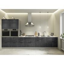 Кухня Лофт бетон темный