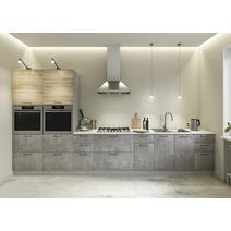 Кухня Лофт бетон светлый