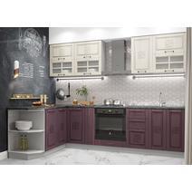 Кухня Тито перламутр/пурпур