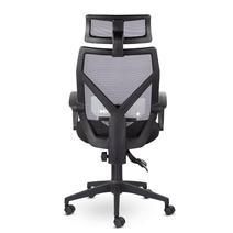 Кресло офисное Астон М-711 PL-black / LF 604-01, фото 4