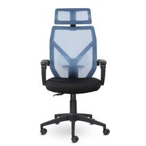 Кресло офисное Астон М-711 PL-black / LF 604-07, фото 1