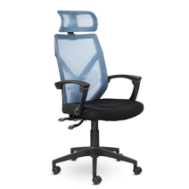 Кресло офисное Астон М-711 PL-black / LF 604-07, фото 2