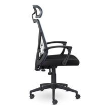Кресло офисное Астон М-711 PL-black / LF 604-07, фото 3