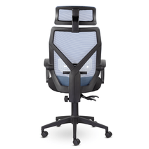 Кресло офисное Астон М-711 PL-black / LF 604-07, фото 5