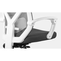 Кресло офисное Астон М-711 PL-white / серый, фото 6