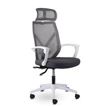 Кресло офисное Астон М-711 PL-white / серый, фото 2