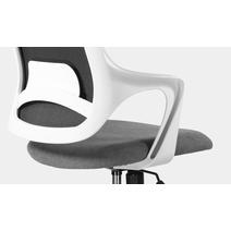 Кресло офисное Ситро М-804 PL white / QH21-1320, фото 6