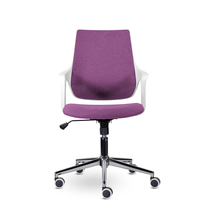 Кресло офисное Ситро М-804 PL white / QH21-1310, фото 2