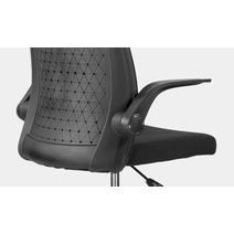 Кресло офисное Торика М-803 PL black / LF2029-01, фото 6