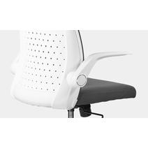 Кресло офисное Торика М-803 PL white / LF2029-12, фото 7