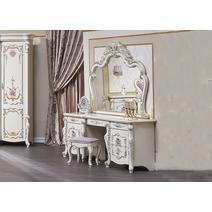 Венеция Classic Туалетный стол с зеркалом и пуфом, фото 1