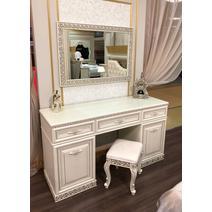 Берта Туалетный стол с зеркалом и пуфом, фото 9
