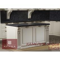Камелия Кухонный гарнитур угловой 4350*2250 с островом, фото 5