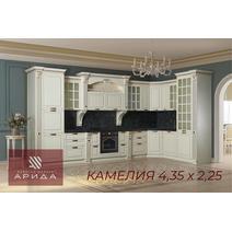 Камелия Кухонный гарнитур угловой 4350*2250 с островом, фото 2