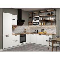 Кухня Ройс белый софт