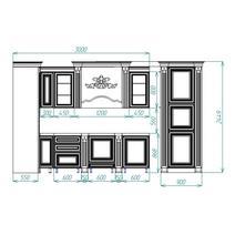 Венеция Кухонный гарнитур угловой 3900*3000, фото 3