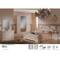 Спальный гарнитур Ирина комплект 4-х дверный / кровать 1600, фото 2