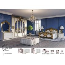 Спальный гарнитур Ольга комплект 6-х дверный / кровать 1600, фото 2