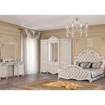 Спальный гарнитур Рафаэлла комплект 4-х дверный / кровать 1800, фото 1