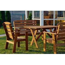 Садовая мебель Дизайнерский стул Woodly MAK, фото 6