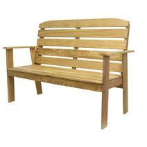 Садовая мебель Скамья Woodly MAK 1500, фото 2