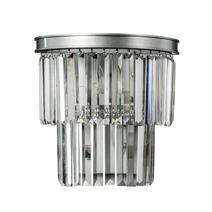 Дизайнерский настенный светильник Odeon silver wall, фото 1