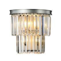 Дизайнерский настенный светильник Odeon silver wall, фото 2