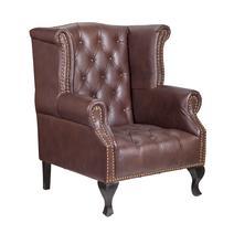 Дизайнерские кресла из кожи Royal brown, фото 2