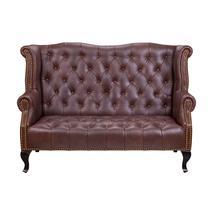 Дизайнерские диваны из кожи Royal sofa brown, фото 1